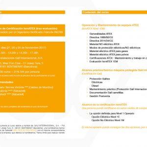 Training ATEX IsmATEX Courses Level 1 EM