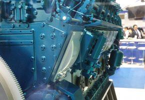 motor NIIGATA 12V28AHX with air starter GALI A48