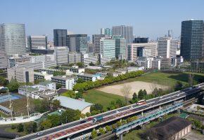 Tokio city Tennozu Isle