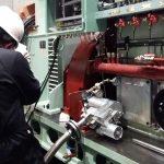Testing on MAN 23-30 engine