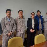 Visit to Hudong for nuclear project