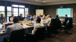 Standardization committee ATEX in Newcastle (Australia) miniature