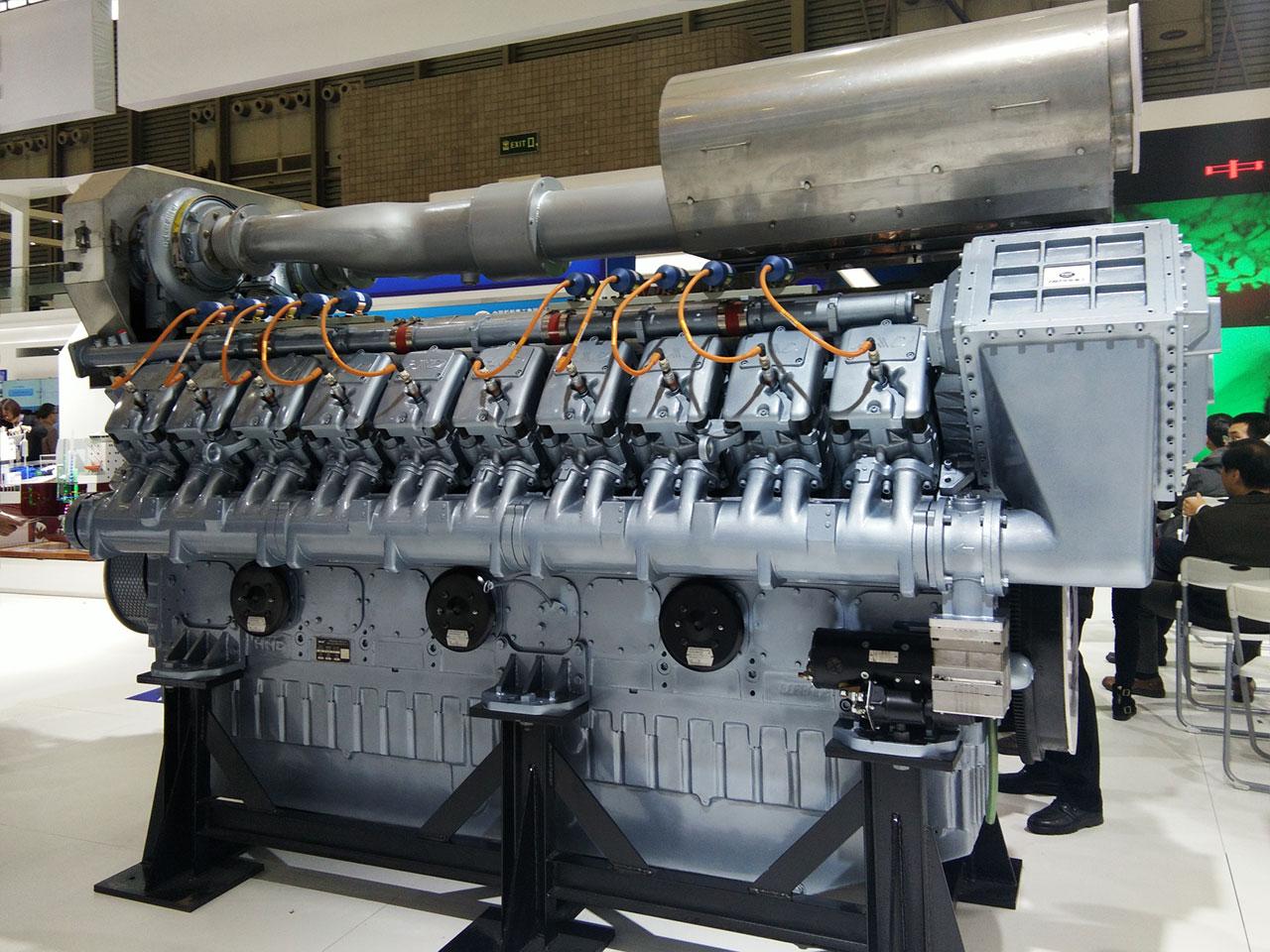 chd henan diesel engine  bring  gali air starter   butterfly valve