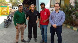 Cummins India Gali Group visita técnica miniatura