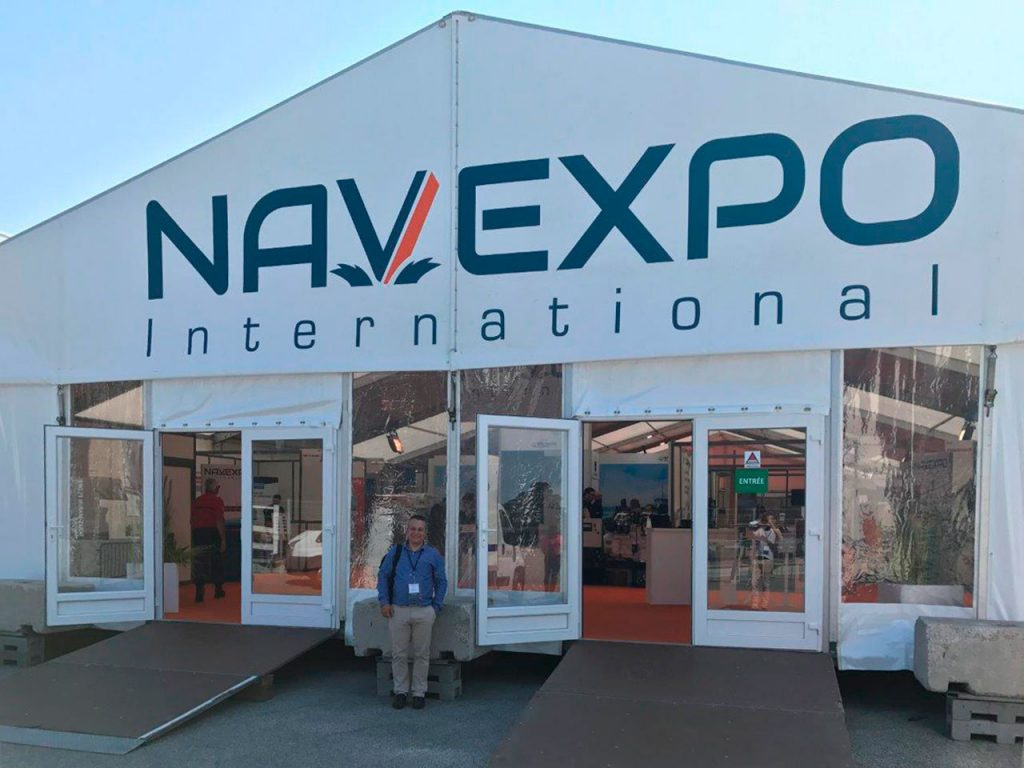 Exhibition Stand Builders France : Our pass of gali france by the navexpo exhibition