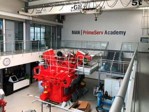 MAN training Gali France in Saint-Nazaire