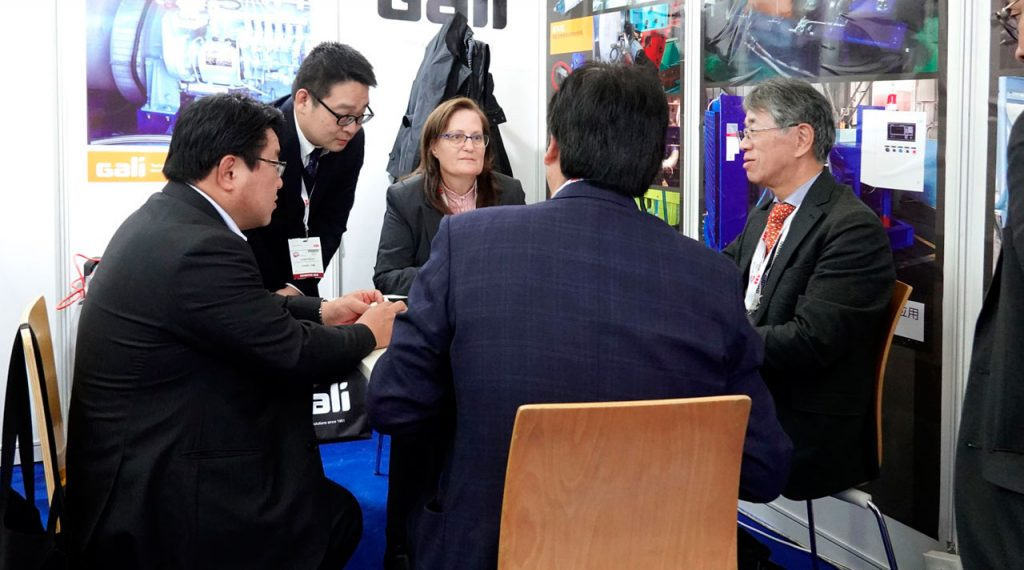 Gali China at Marintec China exhibition 2019 miniature