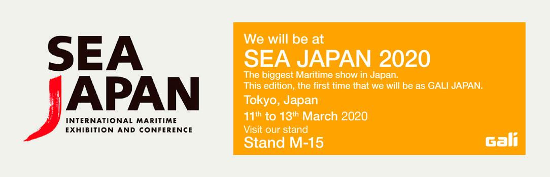 Gali Japan at Sea Japan 2020 exhibition