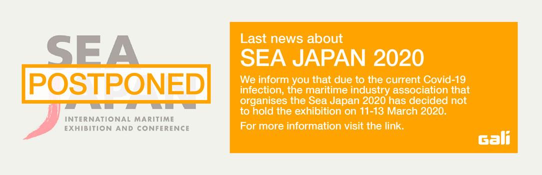 Sea Japan 2020 exhibition postponed