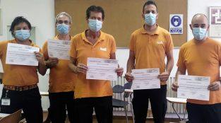 Curso Prevención de Riesgos Laborales en Galí Internacional 2020